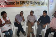 Karnataka Health Promotion Trust Staff Visit BHESP's Wellness Center