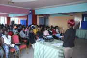 BHESP Trains Peer Educators on Mapping and Size Estimation to better plan HIV prevention interventions